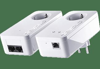 DEVOLO devolo 9834 dLAN 550+ WiFi Starter Kit Powerline Powerline Adapter 500 kbit/s Kabellos und Kabelgebunden