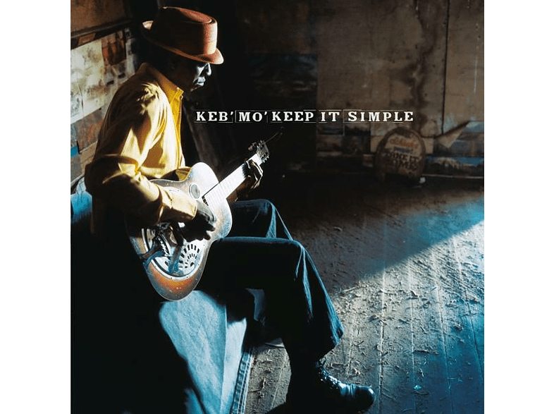 Keb' Mo' - Keep It Simple (Ltd.Transparents Blaues Vinyl) [Vinyl]