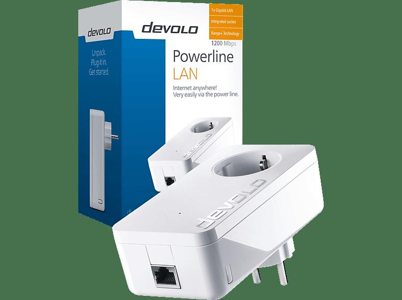 Powerline Adapter DEVOLO 9320 dLAN® 1200+ 1200 Mbit/s kabelgebunden