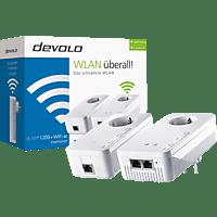 Powerline Adapter DEVOLO 9390 dLAN® 1200+ WiFi ac Starter Kit 1200 Mbit/s Kabellos und Kabelgebunden