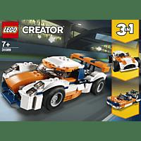 LEGO Rennwagen Bausatz, Mehrfarbig
