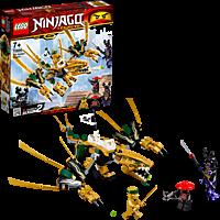 LEGO Goldener Drache Bausatz, Mehrfarbig