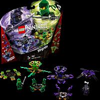 LEGO Spinjitzu Lloyd vs. Garmadon Bausatz, Mehrfarbig