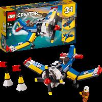 LEGO Rennflugzeug Bausatz, Mehrfarbig
