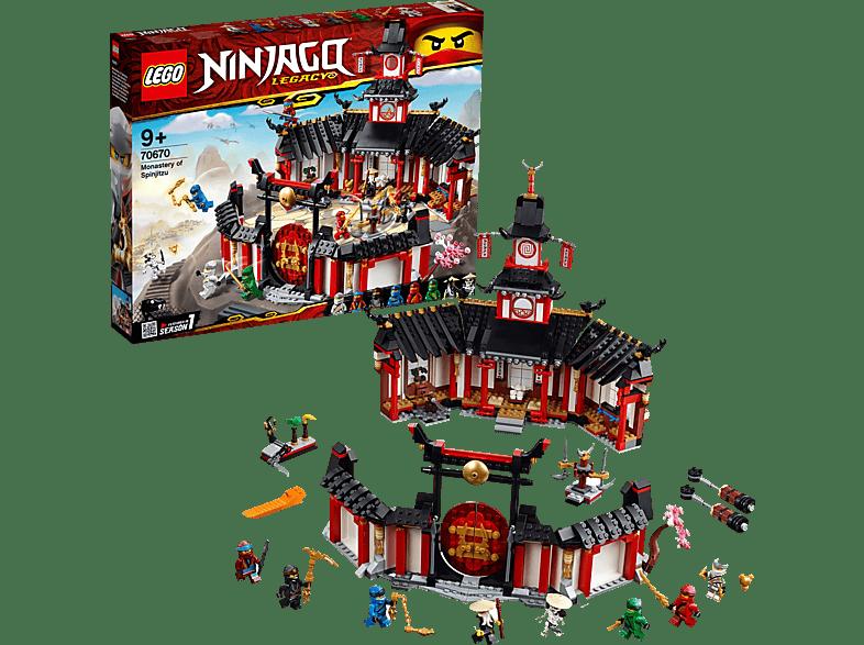 LEGO Kloster des Spinjitzu Bausatz, Mehrfarbig
