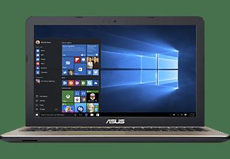 ASUS R540LA-DM974T, Notebook mit 15,6 Zoll Display, Intel® Core™ i3 Prozessor, 4 GB RAM, 256 GB SSD, Intel® HD-Grafik 5500, Chocolate Black