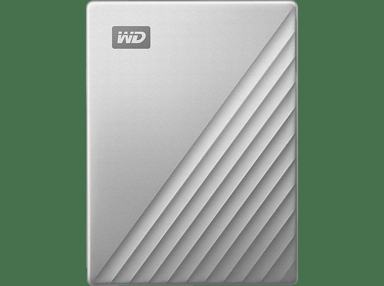 WD My Passport™ Ultra, USB-C™-fähig , 1 TB HDD, 2.5 Zoll, extern