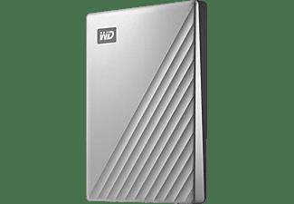 WD My Passport™ Ultra Festplatte, 1 TB HDD, 2,5 Zoll, extern, Silber