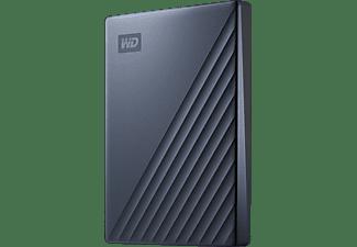 WD My Passport™ Ultra Festplatte, 2 TB HDD, 2,5 Zoll, extern, Blau