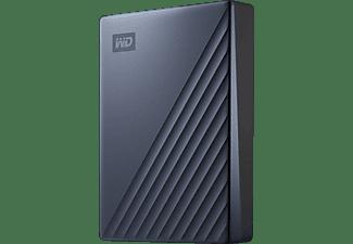 WD My Passport™ Ultra Festplatte, 4 TB HDD, 2,5 Zoll, extern, Blau
