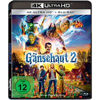 Gänsehaut 2 [4K Ultra HD Blu-ray + Blu-ray]