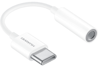 HUAWEI USB-C / 3.5 mm jack-adapter Wit (55030086)