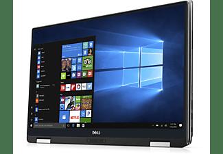 DELL XPS 9365, Convertible mit 13 Zoll Display Touchscreen, Core™ i7 Prozessor, 8 GB RAM, 256 GB SSD, Intel® UHD-Grafik 615, Schwarz, Silber