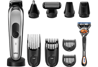 BRAUN All-in-One-Trimmer MGK7020 10-in-1 Schwarz/Silber