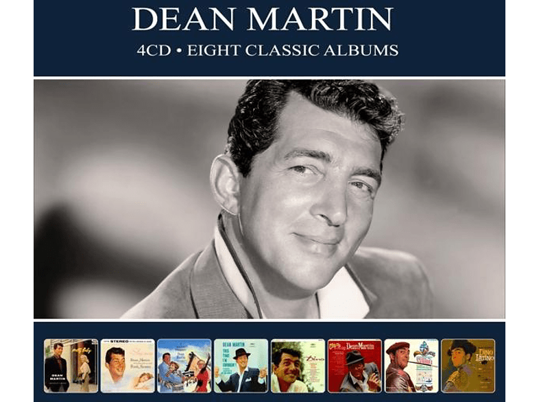 Dean Martin - 8 Classic Albums [CD]
