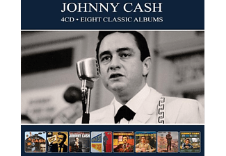 Johnny Cash - 8 Classic Albums  - (CD)