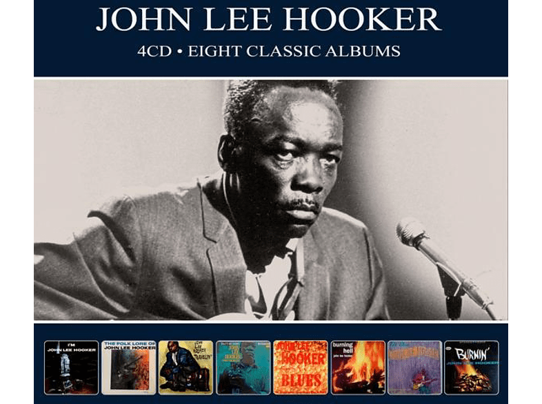 John Lee Hooker - 8 Classic Albums [CD]