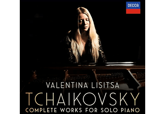 Valentina Lisitsa - Tchaikowsky-Complete Works For Solo Piano  - (CD)