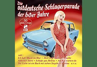 VARIOUS - Die ostdeutsche Schlagerparade  - (CD)