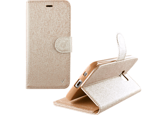 VOLTE-TEL Θήκη Iphone 7 4.7 Leather Gold-TPU Book Stand - (5205308172786)