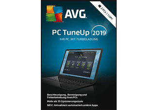 AVG PC TuneUp 2019 - 3 PCs - [PC]