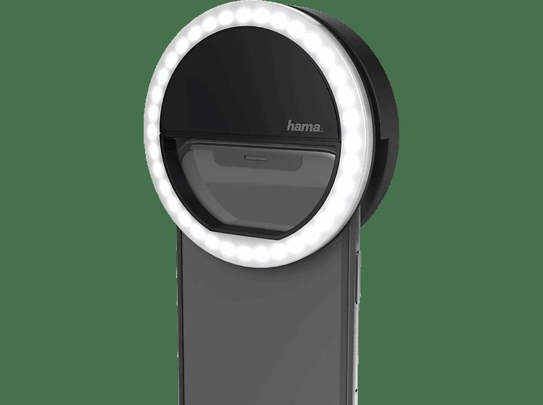 HAMA Selfie Ringlicht Schwarz