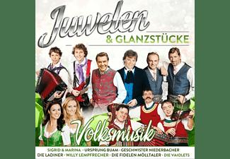 VARIOUS - Juwelen & Glanzstücke - Volksmusik  - (CD)