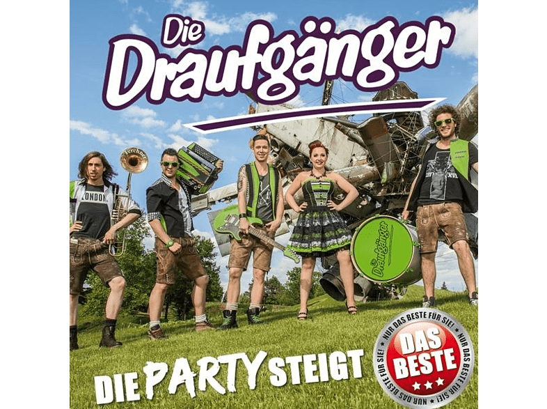Die Draufgänger - Die Party steigt [CD]
