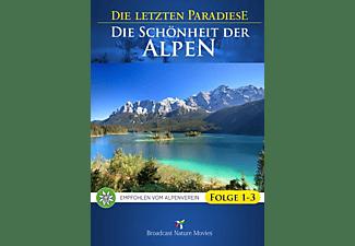 Die letztem Paradiese - Die Schönheit der Alpen Folge 1-3 DVD