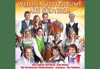 VARIOUS - Weihnachtsträume aus Südtirol  - (CD)