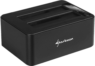 SHARKOON QuickPort Duo Clone USB 3.1 Type C