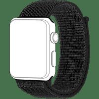 TOPP 40-37-2698, Ersatz-und Wechelarmband, Apple, Watch 42/44, Schwarz