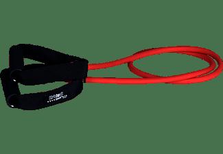 CHRISTOPEIT Latex Widerstandsband MEDIUM 130 cm Expander, Schwarz/Rot