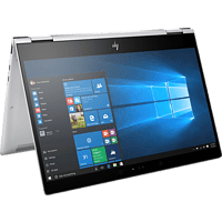 HP EliteBook x360 1020 G2, Convertible mit 12.5 Zoll Display, Core™ i7 Prozessor, 16 GB RAM, 512 GB SSD, Intel® HD-Grafik 620, Silber