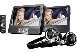 LENCO MES 415 DVD Player, Schwarz