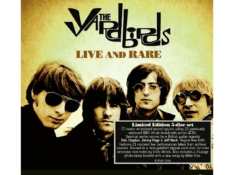 The Yardbirds - Live & Rare [CD]
