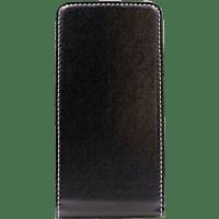AGM 27636 , Flip Cover, Huawei, P Smart (2019), Obermaterial Kunstleder, Thermoplastisches Polyurethan, Schwarz