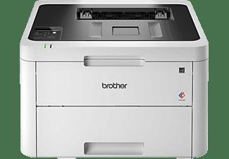 BROTHER Laserdrucker HL-L3270CDW, LED, 24 S/min Farbe, Wi-Fi, Duplex, Touchscreen, Weiß
