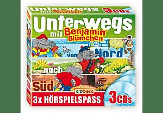 Benjamin Blümchen - Unterwegs mit Benjamin  - (CD)
