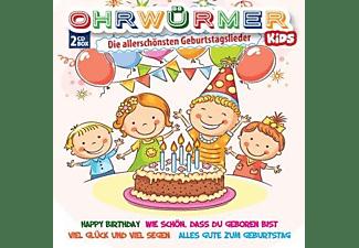 VARIOUS - Ohrwürmer Kids-Geburtstagslieder  - (CD)