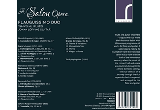 Flauguissimo Duo - A Salon Opera  - (CD)