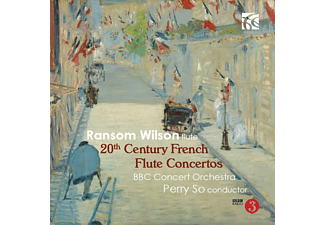Wilson,Ransom/BBC Concert Orchestra/SO,Perry - 20th Century French Flute Concertos - (CD)