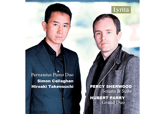 Callaghan Simon-takenouchi Hiroaki - Percy Sherwood & Hubert Parry Piano Duos - (CD)