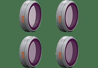 PGYTECH Filter 4er Set Advanced ND/PL für DJI Mavic 2 Zoom Grau-/Polfilter Grau