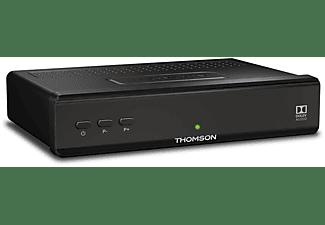 THOMSON THS210 (HDMI, SCART, USB Mediaplayer) Sat-Receiver (HDTV, PVR-Funktion=optional, DVB-S2, Schwarz)