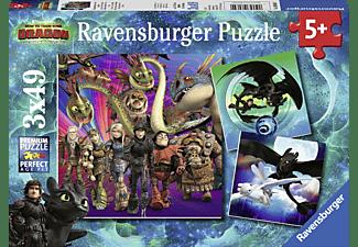 RAVENSBURGER Drachenzähmen leicht gemacht Puzzle Mehrfarbig