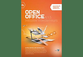 Open Office 4.1.5 inklusive Videolernkurs - [PC]