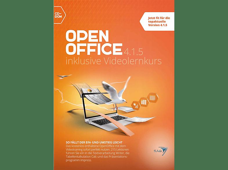 Open Office 4.1.5 inklusive Videolernkurs