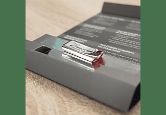 HORIZON FITNESS Passport Media Player Zusatzstrecken, Silber/Rot