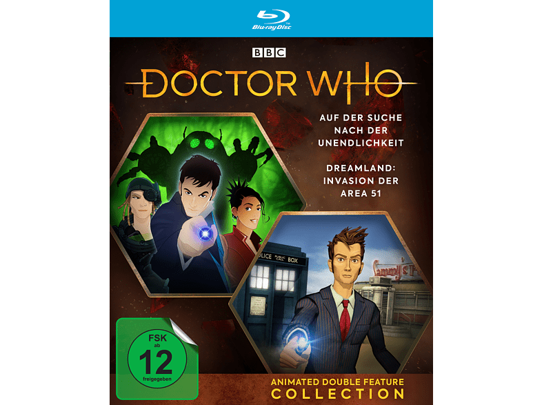DOCTOR WHO - ANIME DOUBLE FEATURE COLLECTION [Blu-ray]